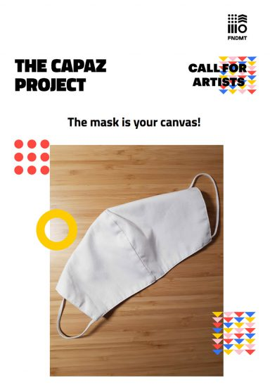 THE MASK IS YOUR CANVAS!