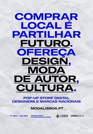 MODALISBOA LANÇA POP-UP PARA INCENTIVAR CONSUMO LOCAL