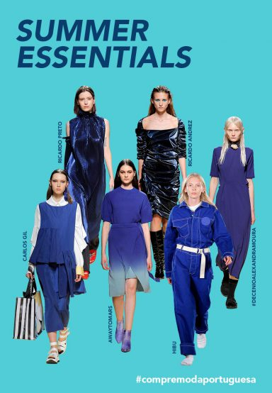 SUMMER ESSENTIALS | LOOKS OF PORTUGUESE DESIGNERS IN PANTONE 2020 COLOR