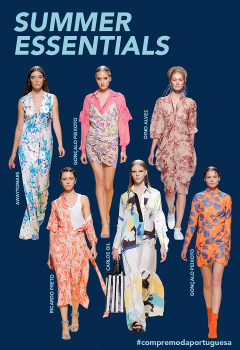 SUMMER ESSENTIALS | FLORAL PRINTS ADD COLOR TO PORTUGUESE DESIGNERS' COLLECTIONS
